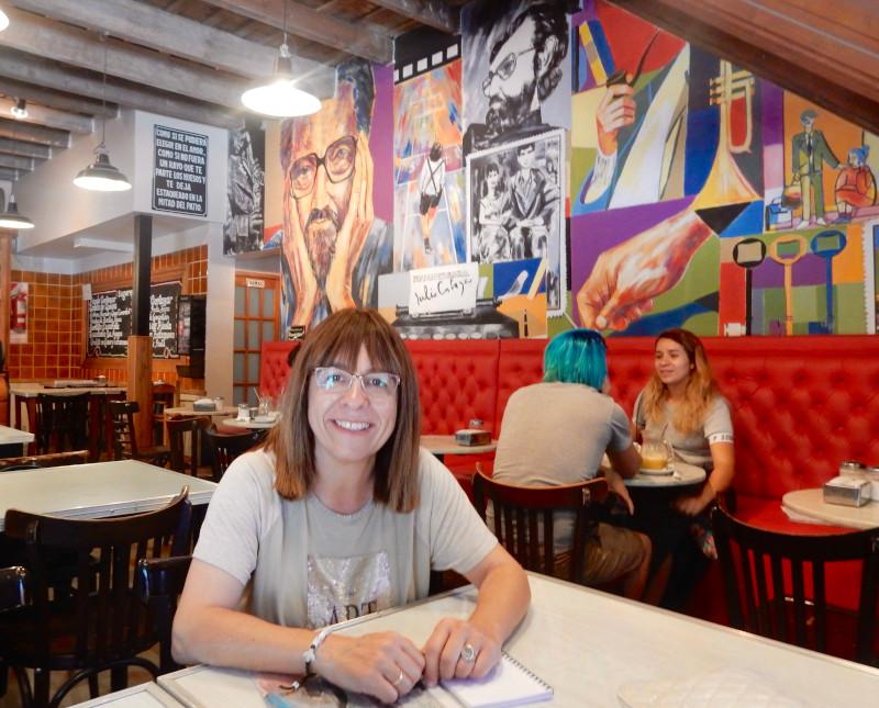 Felicidad Batista Café Julio Cortázar